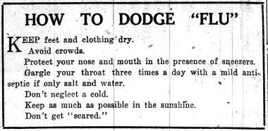 "The Flu Epidemic of 1918-1919 and ""Churchless Sunday"""