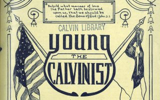 Life- and World- View for Young Calvinists